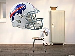 Buffalo Bills Helmet sticker, Bills helmet decal, Buffalo Bills helmet decal, Buffalo Bills sticker, Bills home decor, Bills Helmet bumper sticker, Bills NFL sticker, Bills bumper decal vmb37 (10x10)