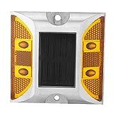 Lazmin112 Illuminazione passerella Impermeabile, Bolla di Luce Multicolore per rampa Stradale, Lampada di Guida Stradale in Alluminio pressofuso a 2 modalità per Illuminazione Stradale