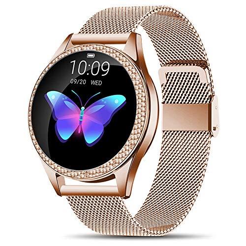 CUIFULI Smartwatches für iPhones iOS Android Smartwatch IP68 Wasserdicht Fitness Tackers Bluetooth Smart Armband Schlaf Herzfrequenz Kalorien Monitor Aktivitätsarmband für Frauen Lange Akkulaufzeit