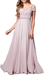 Aofur New Lace Long Chiffon Formal Evening Bridesmaid Dresses Maxi Party Ball Prom Gown Dress Plus Size