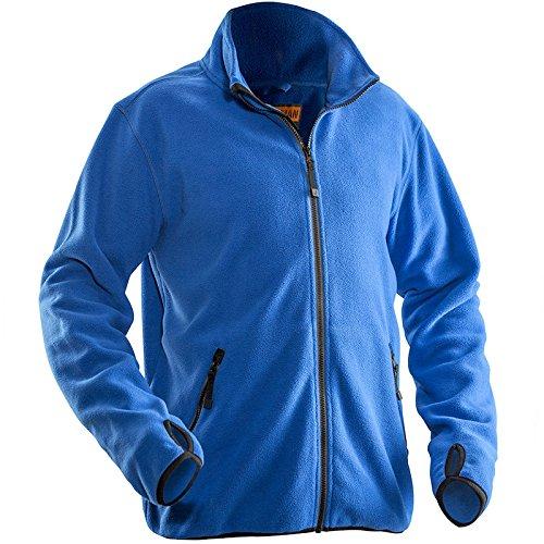 Jobman 550175-6500-6 Fleece Jacke in königsblau Größe L, L