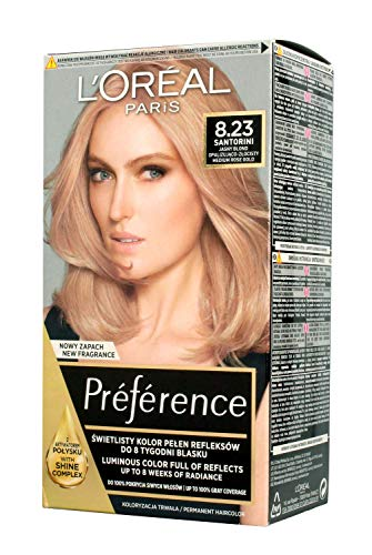 L'Oréal Paris Preference Haarfärbemittel 8.23 Medium Rose Gold