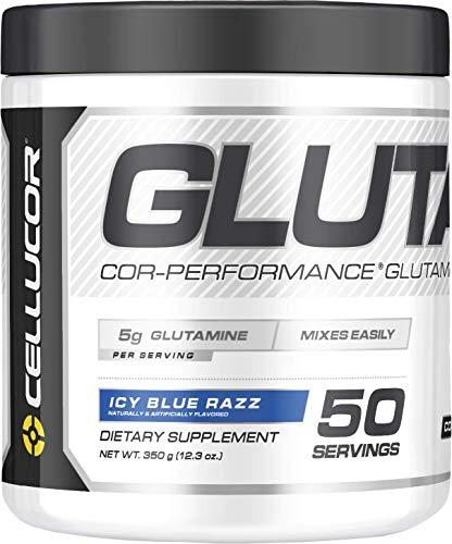 Cellucor Cor-Performance Glutamine, ICY Blue Razz, 350g