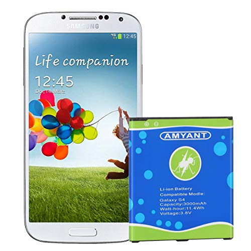 Galaxy S4 Battery Amyant 3000mAh Li-ion...
