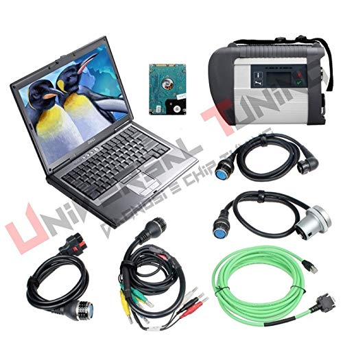 Nobrand SD Connect C4 mit WiFi + PC dell 630D Diagnostic and Programming Tool for Benz