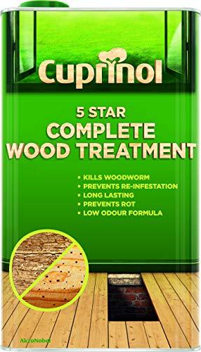 Cuprinol 5 Star Complete Wood Treatment (WB) 5 LITRES