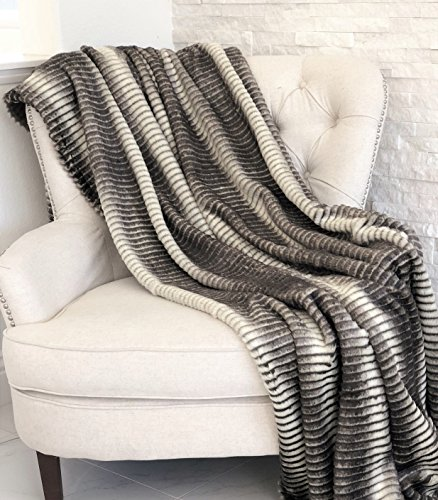 Best Price Plutus Brands Plutus Faux Fur Luxury Throw, 80″ L x 110″ W Full