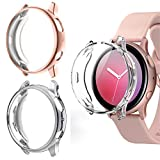 Beuxece 3 Pack Case for Samsung Galaxy Watch Active 2 40mm, Full...