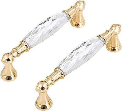 3,75 5 Crystal Drawer Knobs Pulls Handles Glass Knob Dresser Knob Rhinestone Cabinet Door Handle Lynns Hardware Oil Rubbed Bronze 96 128