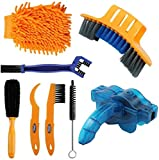 Best Tire Chains - Sanstar 8pcs Bicycle Clean Brush Kit, Motorcycle Bike Review