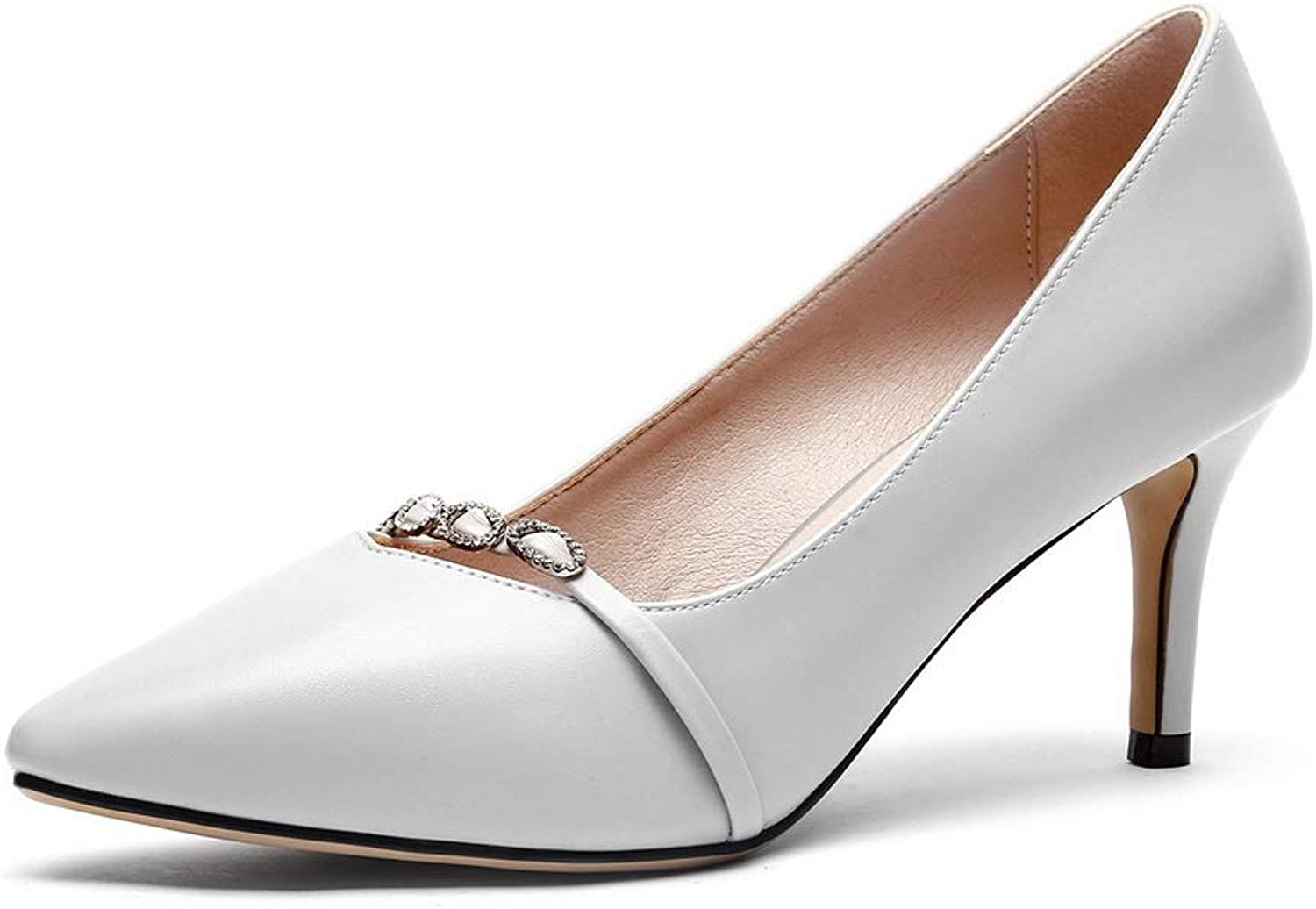 1TO9 Womens Beaded Solid Casual Urethane Pumps shoes MMS06372