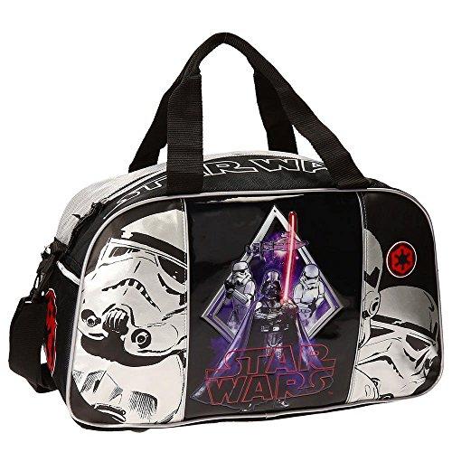 Star Wars Borsa da Viaggio, Bambini, 27 Litri, Darth Vader, Nero