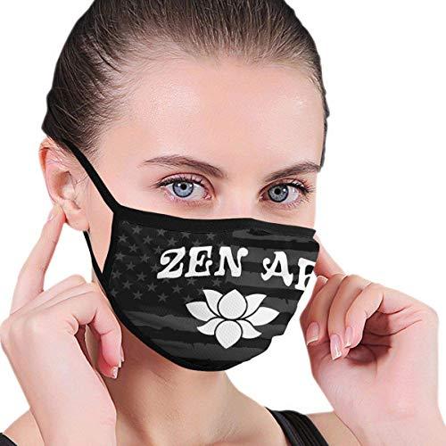 Cover Masker Zen Af Balaclava Multifunctionele Herbruikbare Wasbare Gezichtskappen School afdrukken Mode Werk Outdoor Winter Oorlus Hoofddeksels Kleurrijke Fietsen