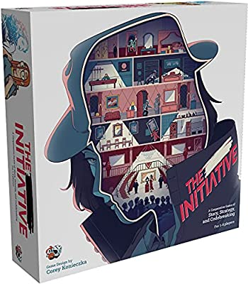 The Initiative Board Game | Strategy Game | Narrative Puzzle Game | Escape Room Game for Adults and Kids | Ages 8 and up | 1 to 4 Players | Average Playtime 30 – 60 Minutes | Made by Unexpected Games