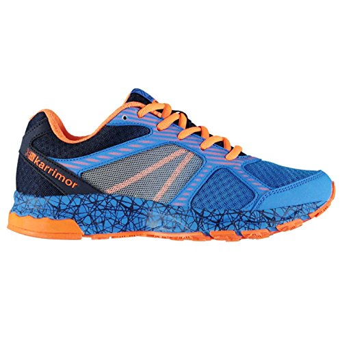 Karrimor Kinder Tempo 5 by Laufschuhe Blau/Orange 39