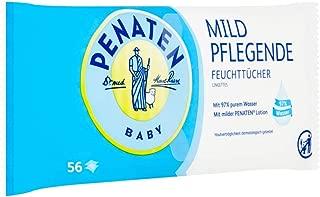 0,02 EUR//Stck Penaten Baby ultra sensitiv Reinigungstücher 5x 56Stück
