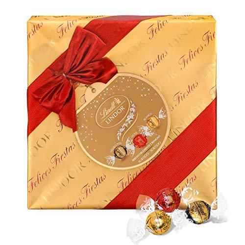LINDT Lindor bombones de chocolate con leche caja 287 gr