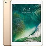 Apple iPad with WiFi, 32GB, Gold (2017 Model) (Renewed)