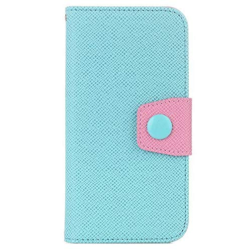 Wallet Cover for iPhone 7, 4.7 inch Phone Case for Girls, Sammid Wallet Pu Leather Smart Flip Folio Case with Card Slot for iPhone 7 - Sky Blue