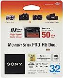 Sony MSHX32B - Tarjeta de memoria Sony Memory Stick PRO-HG Duo de 32 GB (50 MB/s), negro
