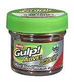 Berkley Gulp! Alive! - Bloodworm Gulp! Alive Bloodworms Large Nr. 1236977