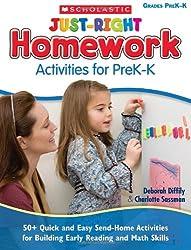 homework activities for preschoolers
