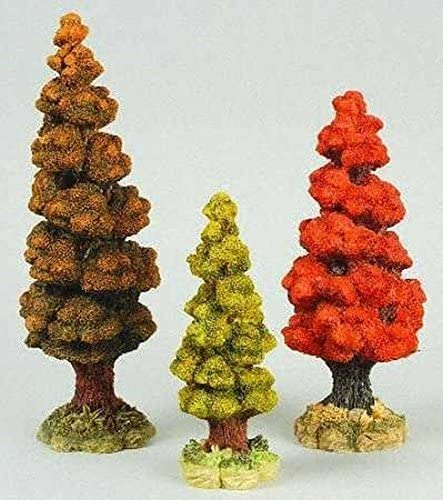 Dept 56 Autumn At the price Trees - of 3 Cheap Set #52616