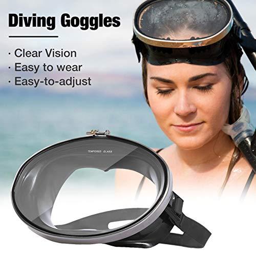 Uing Gafas de Buceo Impermeables Gafas de natación Snorkel Espejo de Pescador para Nadar bucear los Pescadores Ajustan la Correa de la Hebilla para un Ajuste preciso fácil Big Sale