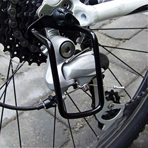 SHIJING 1 Stks Verstelbare Staal Zwart Fiets Mountainbike Achterwiel Derailleur Chain Stay Guard Protector Outdoor Fietsen Accessoires