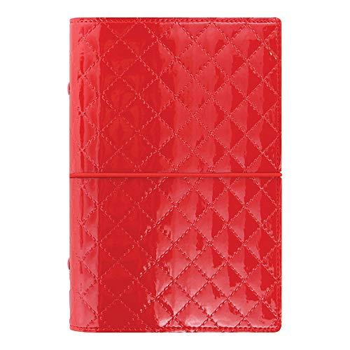 Organizador pessoal Filofax 2019, Domino Luxe Red, 17 x 9,5 cm (C027988-19)