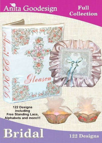 Anita Goodesign Embroidery Machine Designs Bridal