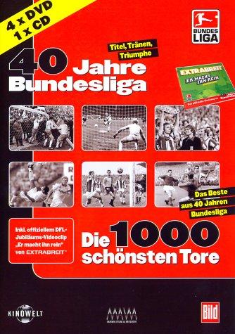 40 Jahre Bundesliga Package (4 DVDs)