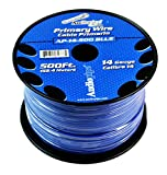 Audiopipe Blue 500' Feet 14 Gauge AWG Car Audio Primary Power Cable Remote Wire