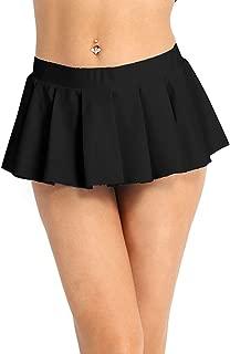 Women's Sexy Role Play Mini Pleated School Girl Skirt Ruffle Lingerie Clubwear