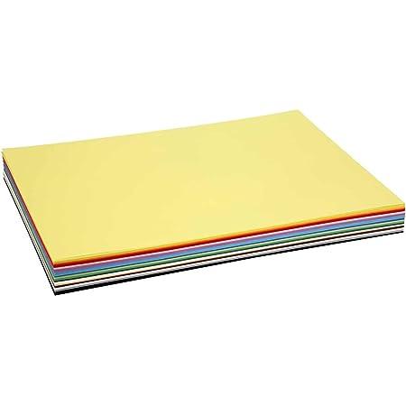 Carte Colortime Creativ, A2 42x60 cm, 180 cm, Couleurs assorties, 20flles assort.