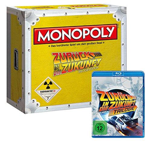 Winning Moves 44307 - Monopoly: Zurück in die Zukunft Collector\'s Edition (mit Blu-Ray)