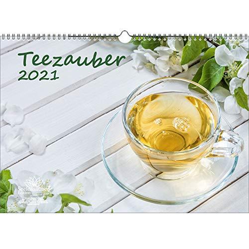 Teezauber DIN A3 Kalender für 2021 Tee - Seelenzauber
