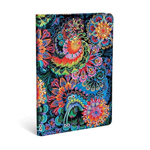 Paperblanks - Olenas Garten Mondlicht - Notizbuch Midi Unliniert