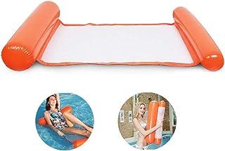 Hamaca de Agua Inflable Cama Flotante portátil Silla de salón Piscina Flotante Playa Flotador para Adultos Silla de Agua para Adultos