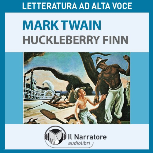 Le avventure di Huckleberry Finn audiobook cover art