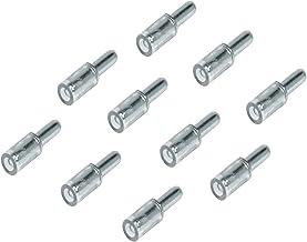 Gedotec glas legbordhouder Ø 3 mm legbordhouder voor houten & glazen legborden - H10345 | legbordhouder staal vernikkeld |...