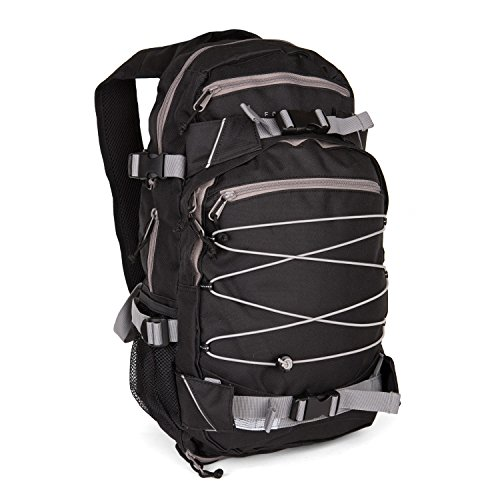 Forvert Louis 25 L Rucksack Backpack Black Grey