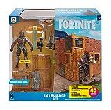 Jazwares- Builder Kit de Construction Fortnite + Figurine Black Knight, FNT0048, Multicouleur