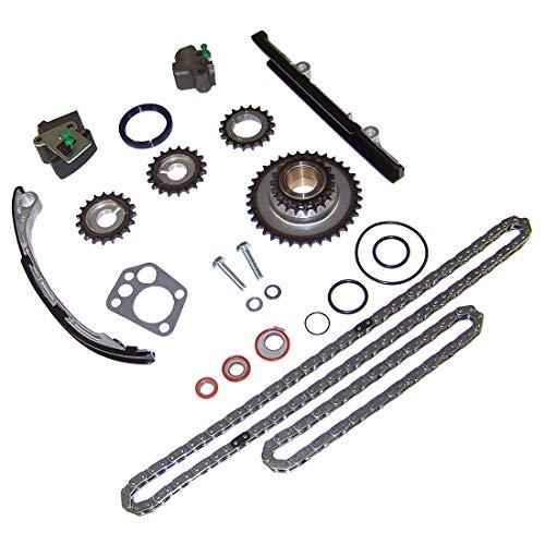DNJ TK626 Timing Chain Kit for 1998-2004 / Nissan/Altima, Frontier, Xterra / 2.4L / DOHC / L4 / 16V / 2389cc / KA24DE