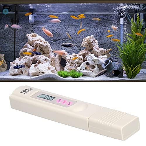 SONK Pluma de Prueba de Agua, Resistente y Duradero, portátil, automático, con compensación de Temperatura, probador de Tds, medición rápida de Agua Potable para acuarios, Piscina