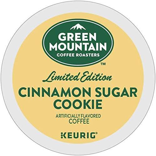 Green Mountain Coffee Cinnamon Sugar Cookie Single Serve Keurig K Cup Pods Light Roast Coffee product image