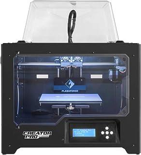 Flashforge - Stampante 3D Creator Pro doppio estrusore con piastra di costruzione ottimizzata e supporto per bobina aggior...