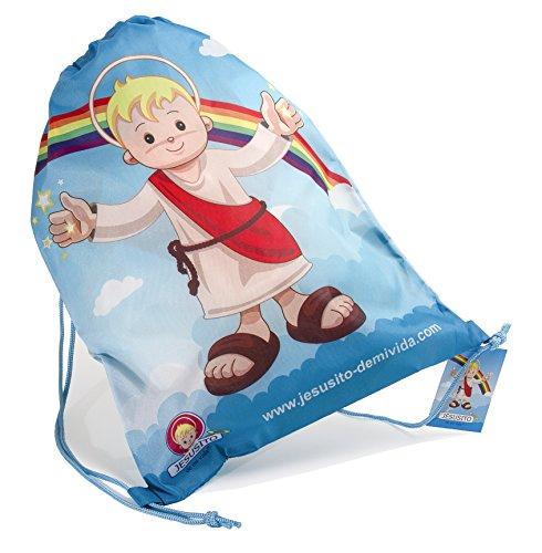 Bolsa-mochila Jesusito de mi vida 30x40 cm. (Ref. 1101