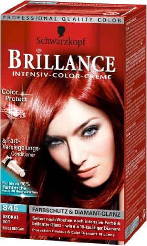Schwarzkopf - Colorations Brillance Rousses 845 - Couleur : Rouge Brocart