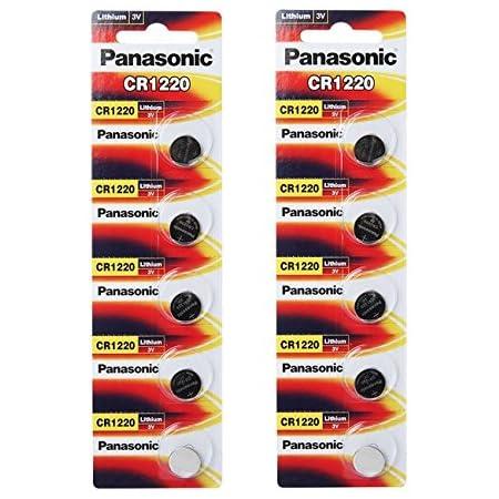 Panasonic Cr1220 3 Volt Lithium Button Cell Batteries Elektronik